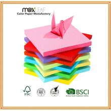 155 * 155mm Multi Colors Mixed Hand Made Craft Folding Paper