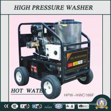 200bar Diesel Motor Industrie Duty Heißwasser Hochdruckreiniger (HPW-HWC186F)