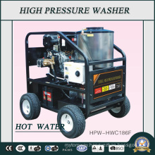 200bar Diesel Engine Industry Duty Hot Water High Pressure Washer (HPW-HWC186F)