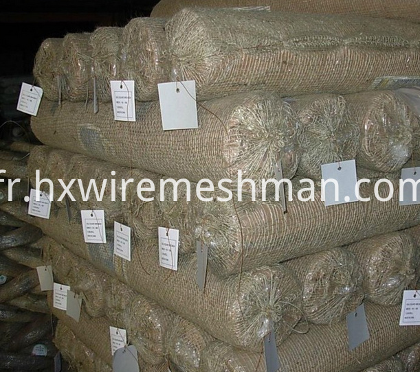 packing of galvanized mesh