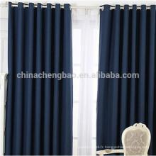 Décoration intérieure Fairy Light Curtain Dernier design Rideau à oeillets en lin