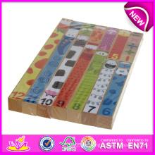 Pädagogisches Spielzeug-Puzzle-Spiele für Kinder, hölzernes Puzzle-Spielzeug für Kinder, bunte Baby-Puzzle-Blöcke W13A059