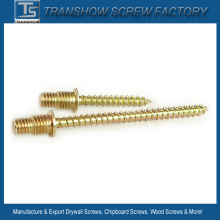 Galvanized Steel Double Threaded Wood Screws