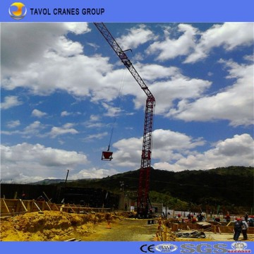 Qtk20 Fast Erection Tower Crane Construction Tower Crane