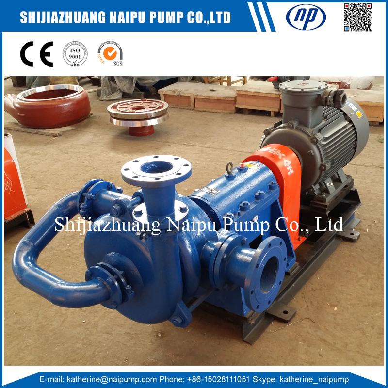Filter feed pump