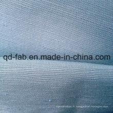 Luxe et beau tissu en soie de chanvre (QF13-0162)