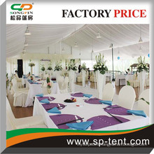 15m x 20m marquee tent size with linings for wedding and party events