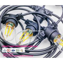 Сл-57 Открытый лампы IP65 Сид G45 E27 светодиодные ленты света для Рождественские украшения всепогодный