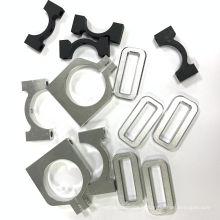 Pince de tube en aluminium de précision OEM