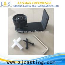 Hardware de la puerta de granero de desplazamiento interior de alta calidad / guía del rodillo de la puerta del granero / rodillo deslizante