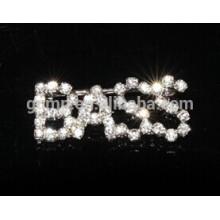 custom letter pin rhinestone brooch fashion pins