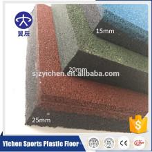 Высокая плотность и запах бесплатный крытый тренажерный зал резиновые коврики