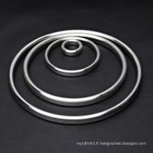 Grosses soldes! ASME B16.20 Oval / Octa en acier inoxydable Ring Type Joint Rtj