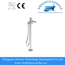 Cylindrical Bathtub Faucet with Single Handle