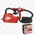 JS HVLP Kit de pistola de aire de pulverización de pintura de reparación eléctrica - 600W - 220-240V / 120V, JS-910FD