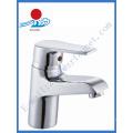 Sola manija de latón grifo del lavabo en artículos sanitarios (zr20902)