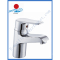 Robinet de cuvette en laiton à poignée unique en sanitaires (ZR20902)