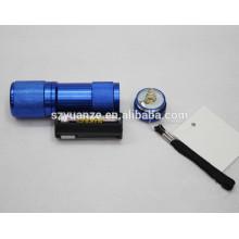 Mini tocha, refletor de lanterna led, mini lanterna led