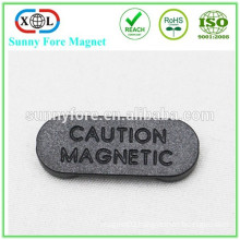 Nickel coated Magnet with Plastic cover