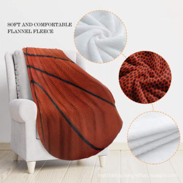 warm thermal double-side customized print reversible blanket