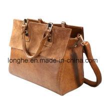 Europa-Retro- lederne Dame-Handtasche (LY0063)