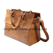 Europe Retro Leather Lady Handbag (LY0063)