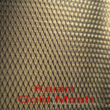 99,99% Pureza de tela Au em tipo tecido e tipo expandido para experimento para elétrica