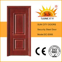Классический Красивый Безопасности Стальные Двери