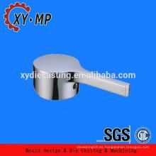 Clásico de oro tono de zinc mango mezclador grifo del lavabo