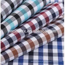 TC camisa de impressão lisa tecido tela camisa de malha