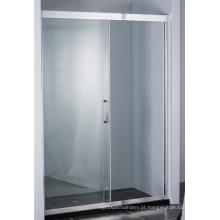 Tela de chuveiro escondido da porta do chuveiro deslizante do rolo