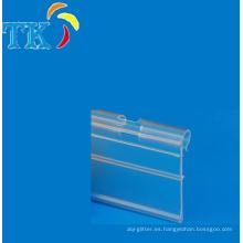 Estantería de PVC tira / tira de datos / tira de boleto con alta calidad