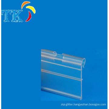 PVC shelf strip/data strip/ticket strip with high quality