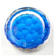 Nouveaux types de cendrier en cristal pour la décoration de maison et de bureau (JD-CA-608)