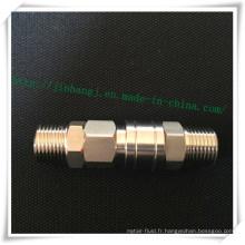 Connecteur rapide pneumatique Sm / Pm en acier inoxydable