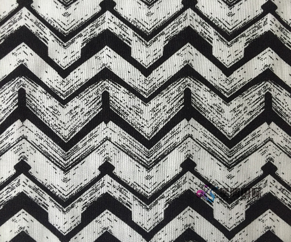 Good Selling Geometric Print Rayon Fabric