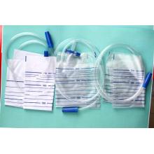 Sac d'urine jetable avec valve différente