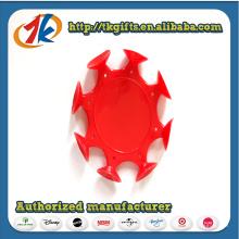Neues entworfenes PVC-klebriges Fliegen-Scheiben-Spielzeug für Verkauf