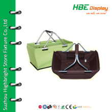 Fashionable shopping bags folding picnic basket