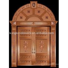Luxus Kupfer Tür Villa Tür Außentür Doppeltür KK-706