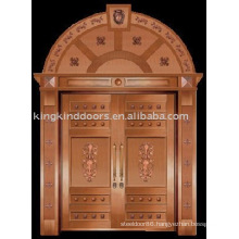 luxury copper door villa door exterior door double door KK-706