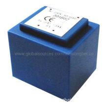 Encapsulated transformer for smart meter, PCB mount, safety design