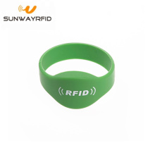 NT213 Closed Type Oval Head rfid Harga Wristband