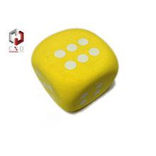 38 Shore Eva Foam Toy , Non-toxic Soft Eva Foam Dice For Education
