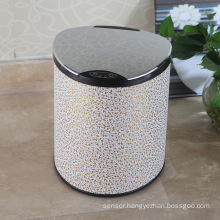 PU White Cloud Design Aotomatic Sensor Dustbin (E-9LB)