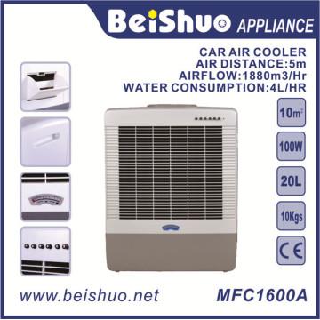 Refrigerador de ar portátil 100W / refrigerador de ar do carro para o repouso / Outerdoor