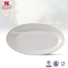 Dinner Plates ceramic fish serving plate, promotional oval plate