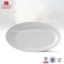 Тарелки керамические рыбное блюдо, выдвиженческая овальная пластина