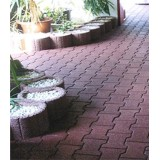 New interlocking rubber tiles made of rubber 100% recycled