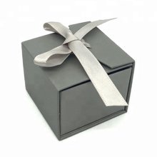 Folding Paper Packaging Wedding Jewellery Ring Box